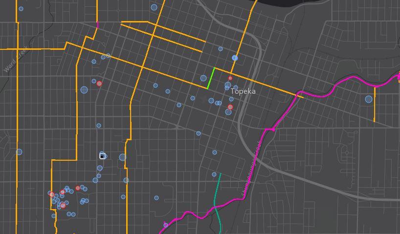 Bike Topeka Maps Bike Topeka